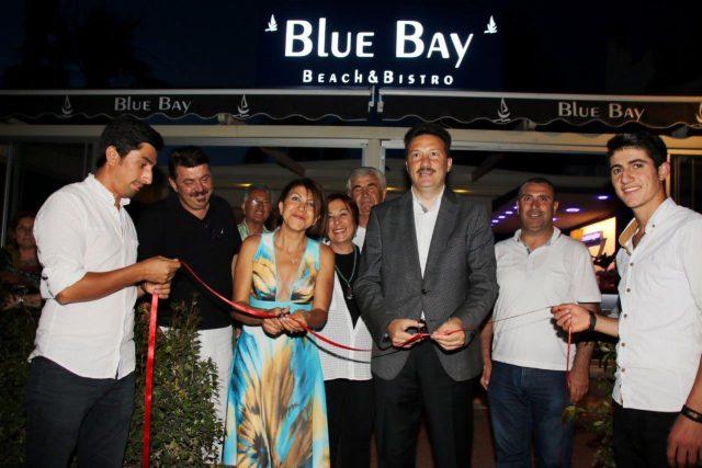 Muğla Gençlik Hizmetleri ve Spor İl Müdürü Serkan ÖÇALMAZ Blue Bay'in açılışını yaptı